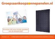 Download onze brochure - Duurzaam zelf zonne energie opwekken ...