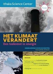 klimaatverandering en nieuwe energie - Ithaka Science Center