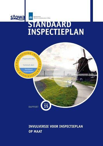 Het Standaard Inspectieplan in PDF - Inspectiewaterkeringen