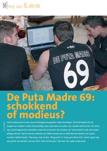 De Puta Madre 69: schokkend of modieus? - Ivo Mijland