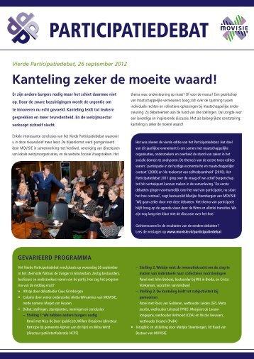 Lees hier meer over het participatiedebat (PDF, 1 Mb) - Gemeente ...