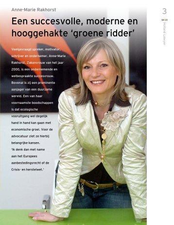 interview met ondernemer Annemarie Rakhorst ... - Rijken & Jaarsma