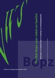 BOPZ cliënt en familie - Innovatiekring Dementie