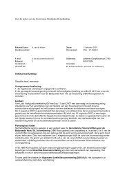 Aan de leden van de Commissie Stedelijke ... - Gemeente Utrecht