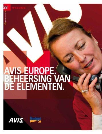 avis europe - D'Ieteren Annual Report 2010