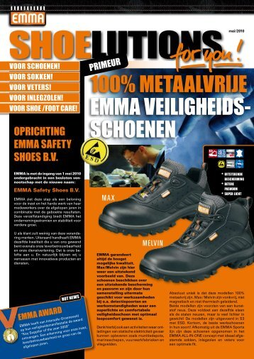 Mei 2010 - EMMA Safety Shoes