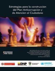 Estrategias para la construcción del Plan Anticorrupción y de ...