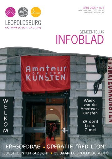 week van de AmateurKunsten - Leopoldsburg