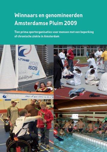 Winnaars en genomineerden Amsterdamse Pluim 2009