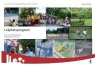 Lekplatsprogram - Huddinge kommun