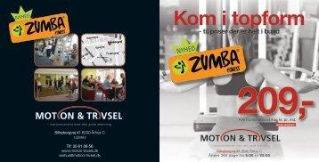 Motion & Trivsel - Region Midtjylland