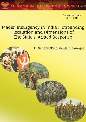 Click here to read full Paper - Vivekananda International Foundation
