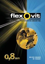 Broschyr Flexovit Mega Line 0,8 mm