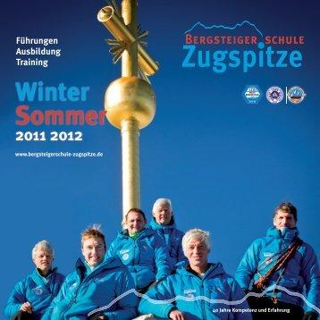 Winter Sommer - Bergsteigerschule Zugspitze