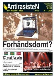 AntirasisteN 03 - 2003 - SOS Rasisme