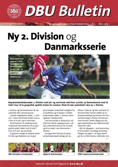 Ny 2. Division og Danmarksserie - DBU