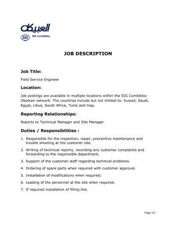 Job Description Radio Taxis Maintenance Job Description Job Brief