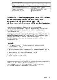 Handlingsprogram inom Stockholms län vid nyanställning av ...