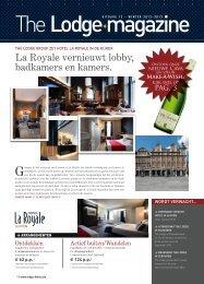 La Royale vernieuwt lobby, badkamers en kamers. - The Lodge