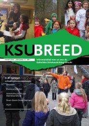 KSU-breed, maart 2009 - Katholieke Scholenstichting Utrecht