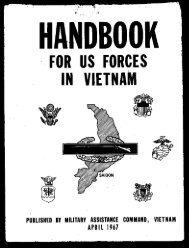 MACV Handbook US Forces Vietnam 1967 - West Virginia State ...