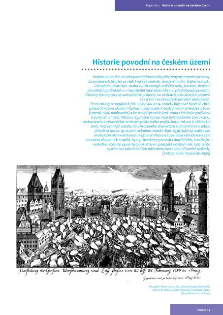Historie povodní na českém území