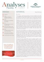 Analyses Monthly - Januari 2013 - Puilaetco
