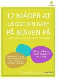 12 måder at lægge dit barn på maven på - minimotion.dk