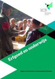 Erfgoed en onderwijs - Kenniscentrum Cultuureducatie Rotterdam