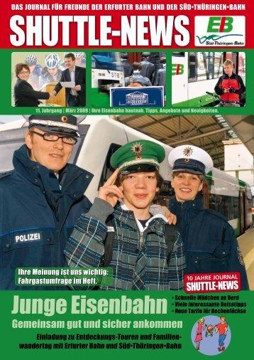 Shuttle News 1 - Erfurter Bahn Gmbh