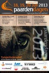 Boekje Paardendagen PDF