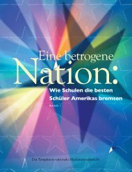 Eine betrogene Nation - Institute for Research and Policy on ...