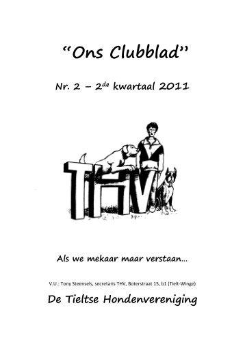 Clubblad 2 - 2de kwartaal 2011