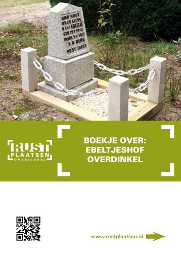 Boekje over: eBeLTjeSHoF overDINkeL - Rustplaatsen
