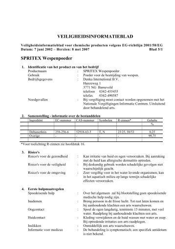 bekijk pdf - ten Dijk Ongediertebestrijding BV