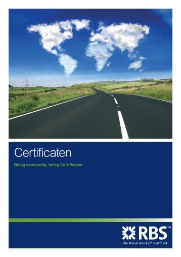 Certificaten brochure - Markets from RBS
