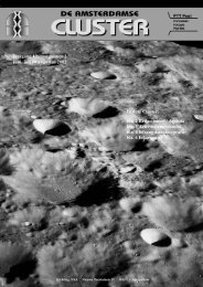 jaargang 12, nummer 2 juni, juli en augustus 2002 In deze Cluster ...