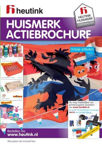 huismerk actiebrochure - Heutink