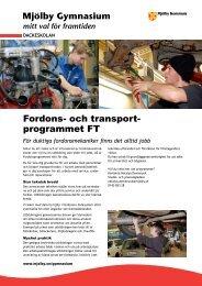 Fordons- och transport- programmet FT