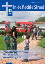 Download magazine - Stichting In de Rechte Straat