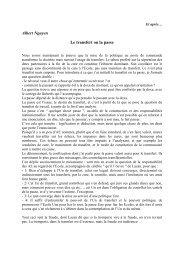 Albert Nguyen Le transfert ou la passe - École de psychanalyse des ...