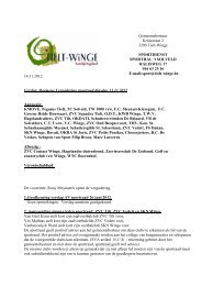 adviesraad sport - gemeente Tielt-Winge