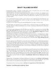 Brev angående rekryteringskampanj - Lärarförbundet