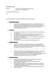 Kooperationsvertrag Zwischen arbeiten24 UG (haftungsbeschränkt ...