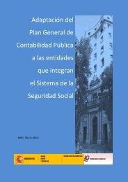 Adaptación del Plan General de Contabilidad ... - Seguridad Social