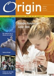 nummer 4, juli 2008 - Faculteit der Wiskunde en ...
