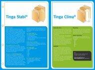 Tinga Stabi® Tinga Clima® - Tinga Deuren & Ramen