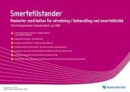 Veiledertabell - Smertetilstander (268KB)