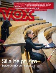 Studeren met een handicap - Vox magazine