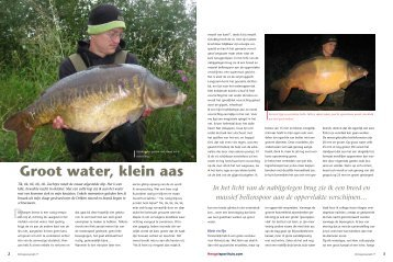 Groot water, klein aas - Pro Line carp products